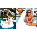 Materac dmuchany - łabędź 150x135x90cm