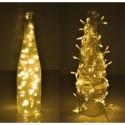 Lampki 200 LED na baterie - ciepły biały