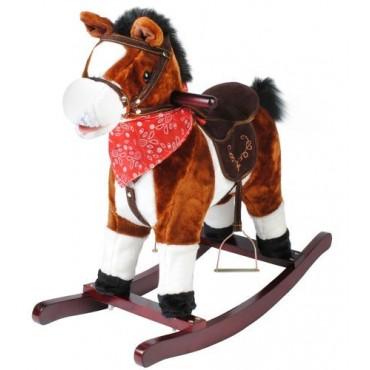 Koń na biegunach 74cm/K4589...