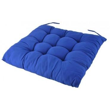 Poduszka 40x40cm niebieska