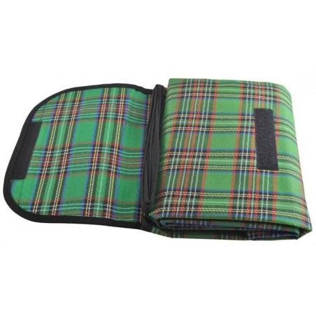 Mata piknikowa 145x180 basic - zielona
