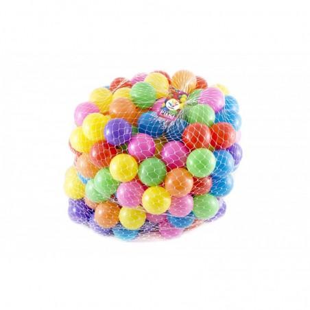 Piłki kulki kolorowe do basenu kojca namiotu 200 szt 6 cm Lilupi