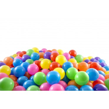 Kulki piłki kolorowe do basenu kojca namiotu 200 szt 6 cm