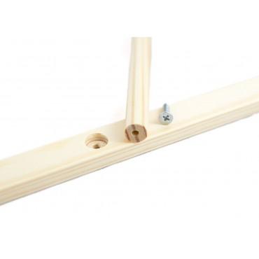 Drewniana tablica kredowo magnetyczna Lilupi