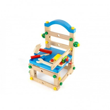 Drewniane krzesło zestaw konstrukcyjny Lilupi