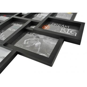 Ramka na 10 zdjęć - czarna