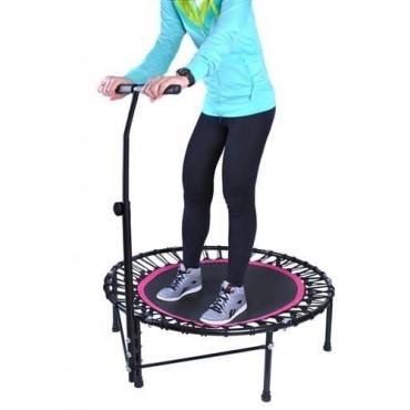 Trampolina Fitness z uchwytem do ćwiczeń