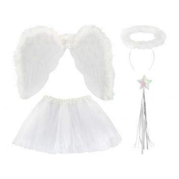 Aniołek - strój 4 elementy