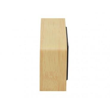 Zegar drewniany LED