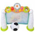 Interaktywna bramka z piłką nożną