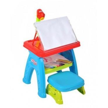 Mały architekt stolik z projektorem do rysowania malowania