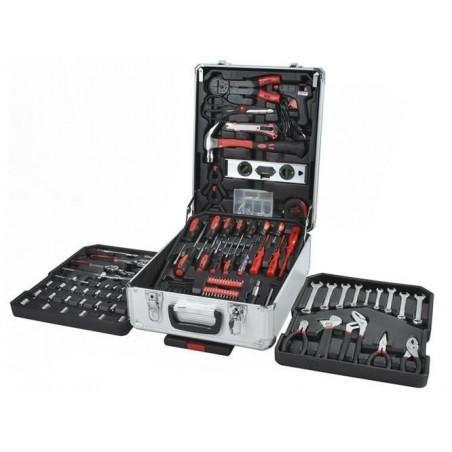 Zestaw narzędzia w walizce 187el. S4574