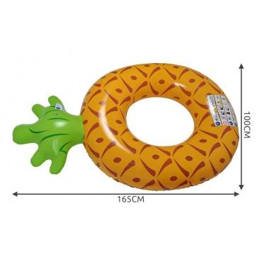 Koło dmuchane - ananas