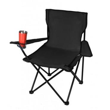Krzesło wędkarskie czarne...