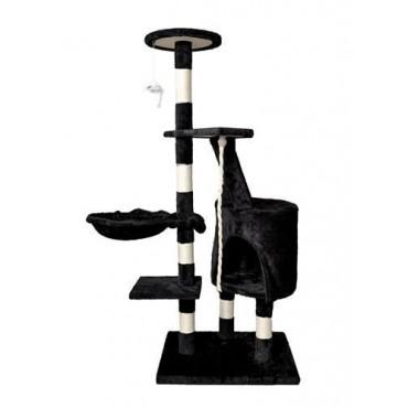 Drzewko dla kota 118cm czarne