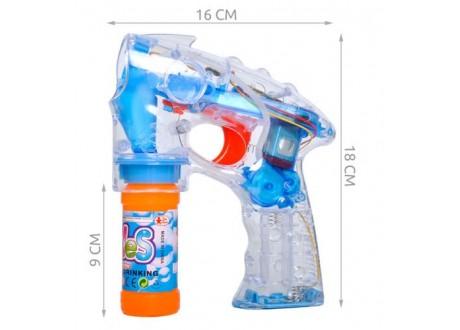 Pistolet do baniek mydlanych - zestaw