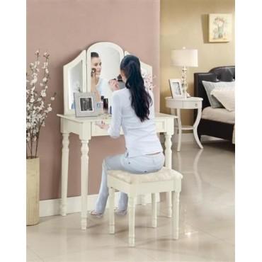 2 GAT. Toaletka z krzesłem...