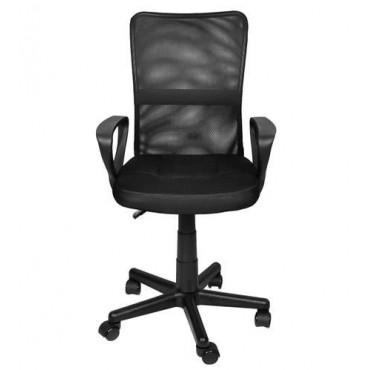 Fotel biurowy czarny  MALATEC