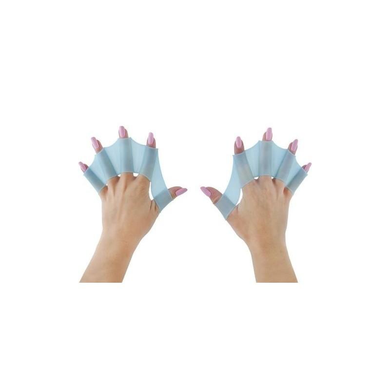 Płetwy silikonowe na dłonie - M