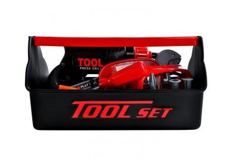 Skrzynka narzędziowa zabawkowa -  22 elementy