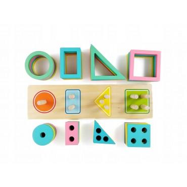 Sorter montessori figury i...