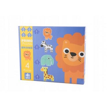 Primo Puzzle Zwierzęta...