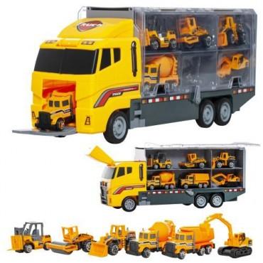 Zestaw ciężarówka TIR z 6...
