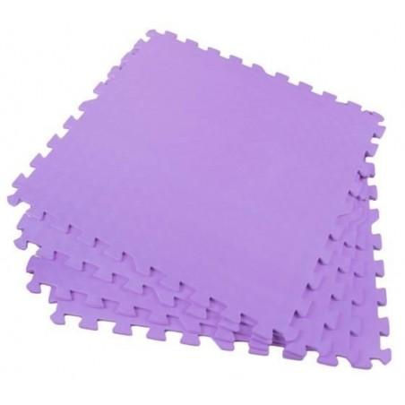Puzzle piankowe 60x60cm 4el. - fioletowe