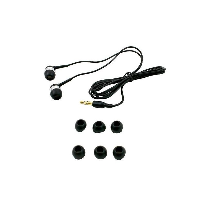 Słuchawki douszne z gumkami