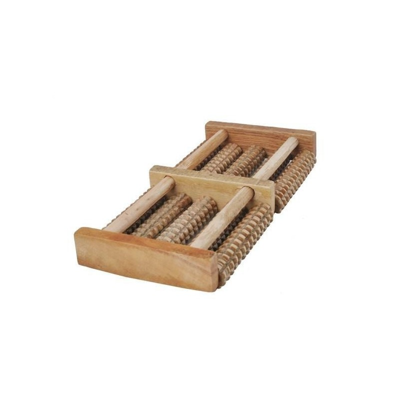 Masażer do stóp drewniany