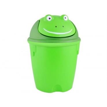 Kosz na śmieci - żabka