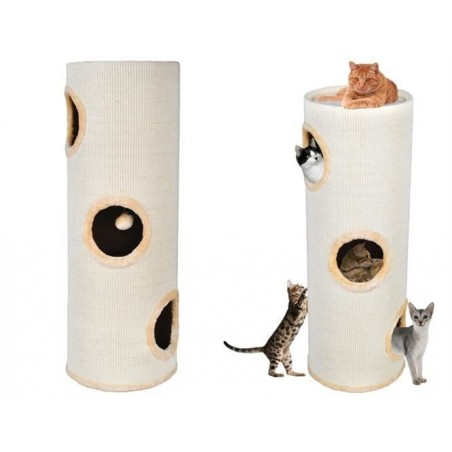 Drapak dla kota-tuba 100cm beżowa
